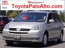 2004 Toyota Sienna XLE Palo Alto CA