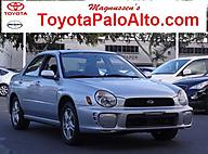 2003 Subaru Impreza 2.5RS Palo Alto CA