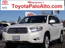 2008 Toyota Highlander Hybrid Limited Palo Alto CA
