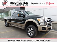 2013 Ford F-350SD King Ranch w/Navigation, Bluetooth and Heated Leather Seats Rochester MN