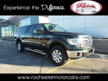 2014 Ford F-150 XLT Leather and Painted Topper Rochester MN