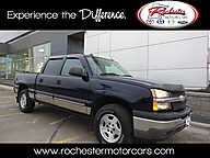 2005 Chevrolet Silverado 1500 LT Heated Leather, Remote Start and Soft Tonneau Cove Rochester MN