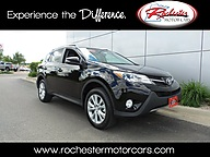 2014 Toyota RAV4 Limited Navigation Leather Backup Cam Bluetooth Rochester MN