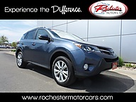 2013 Toyota RAV4 Limited AWD Leather Backup Camera Bluetooth Rochester MN