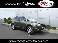 2011 Toyota RAV4 Limited 4WD Leather Sunroof Backup Camera Bluetooth Rochester MN
