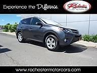 2013 Toyota RAV4 XLE AWD Navigation Sunroof Backup Cam Bluetooth Rochester MN