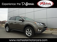 2015 Toyota RAV4 XLE FWD Sunroof Backup Camera Bluetooth Rochester MN