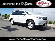 2013 Toyota Highlander SE AWD Leather Sunroof Backup Cam Bluetooth Rochester MN
