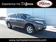 2012 Toyota Highlander SE AWD Leather Backup Camera Bluetooth Rochester MN