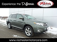 2013 Toyota Highlander Limited AWD Leather Navigation Backup Camera Rochester MN