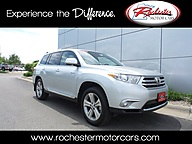 2013 Toyota Highlander Limited AWD Navigation Leather Backup Cam Bluetooth Rochester MN