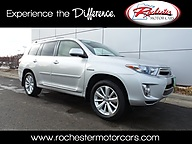 2012 Toyota Highlander Hybrid Limited AWD DVD Navigation Leather Rochester MN