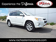 2010 Toyota RAV4 Limited 4WD Leather Sunroof Backup Camera Bluetooth Rochester MN