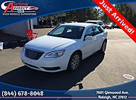 2014 Chrysler 200 LX Raleigh