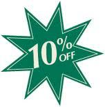 10% OFF Purchases Over $100.00