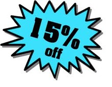 15% Off Purchases over $200.00