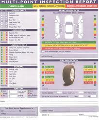 FREE 27 Point Inspection and Vehicle Report