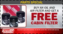 Free Cabin Filter
