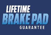 Lifetime Brake Pad Guarantee