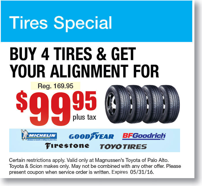 Whlee Alignment Coupon - Mountain View CA Repair Service