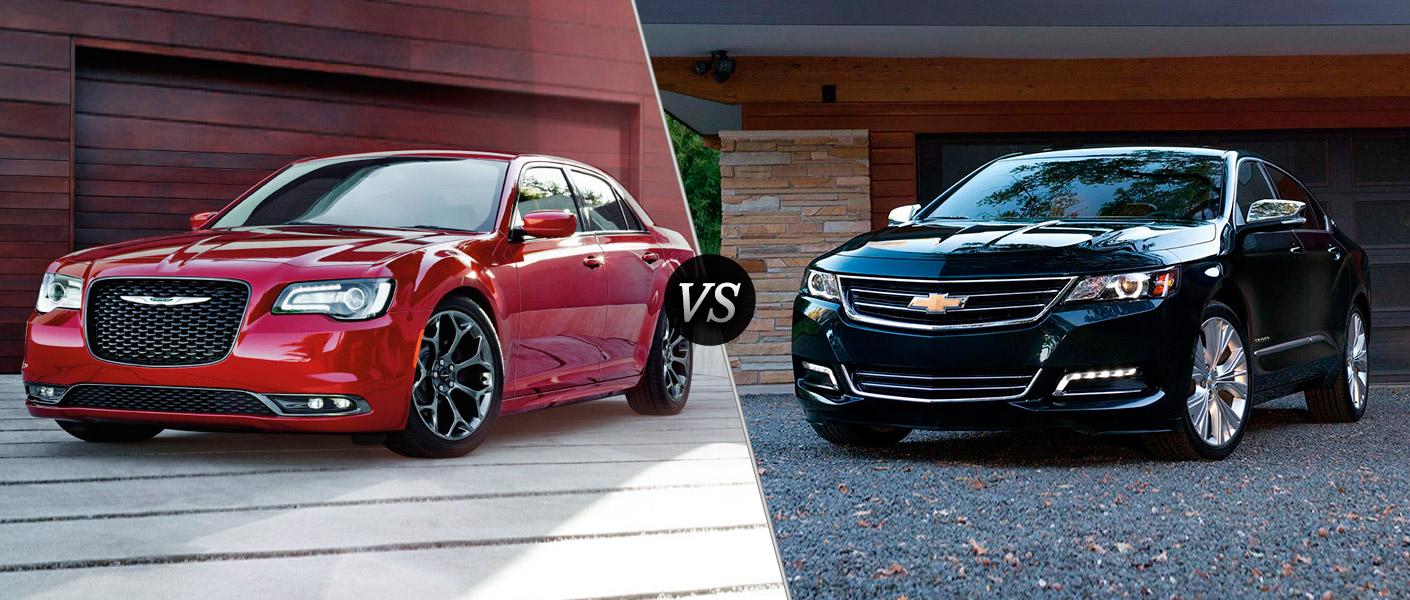 2016 chrysler 300 vs 2016 chevy impala. Black Bedroom Furniture Sets. Home Design Ideas