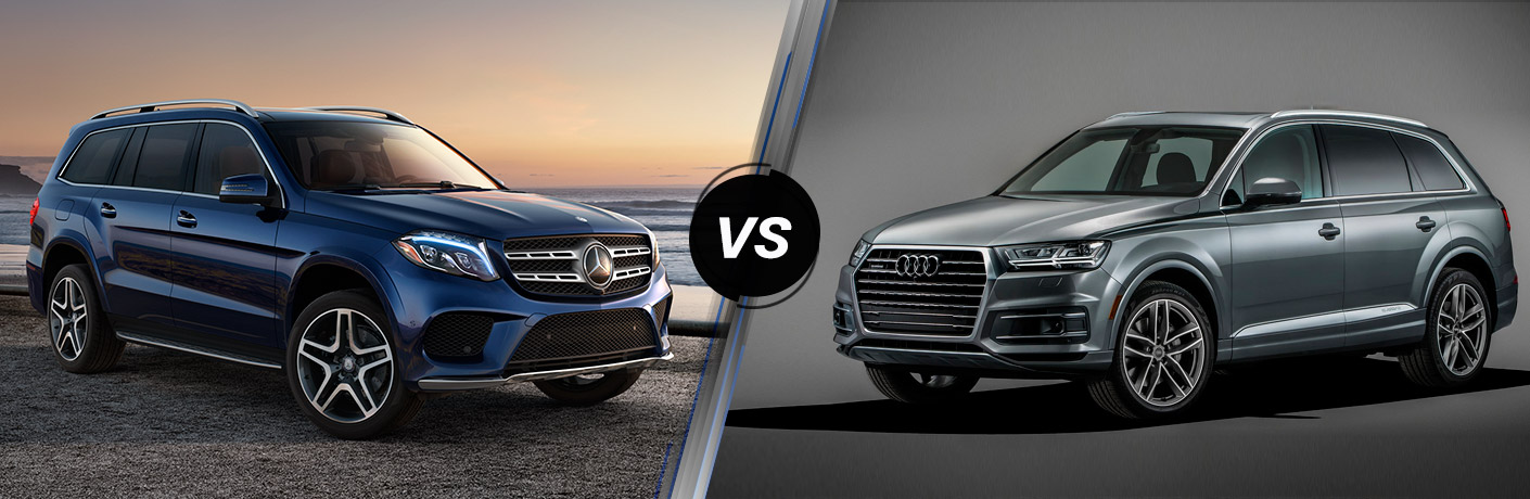 2017 mercedes benz gls vs 2017 audi q7