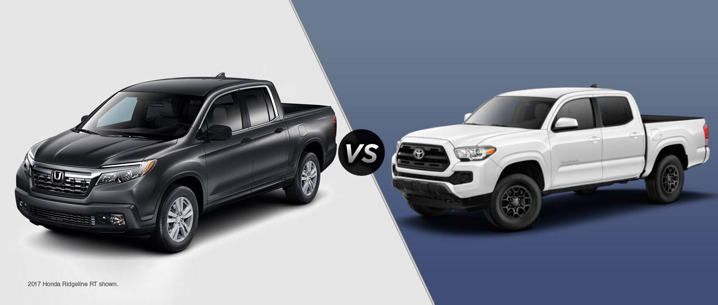 2017 honda ridgeline vs 2017 toyota tacoma for Honda dealership tacoma