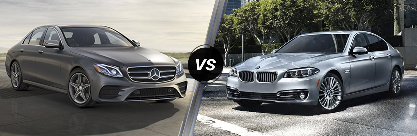 2017 mercedes benz e class vs 2017 bmw 5 series
