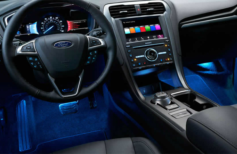 2017 Ford Fusion Interior With Accent Lighting 2017