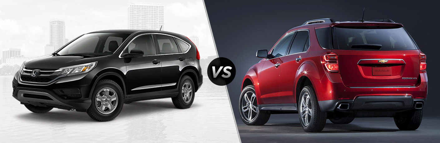 2016 honda cr v lx vs 2016 chevy equinox l for Honda crv competitors