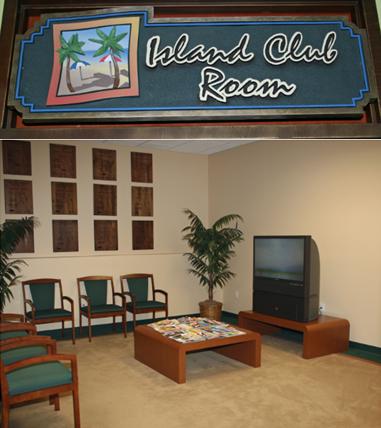 Island Club Room at Island Lincoln