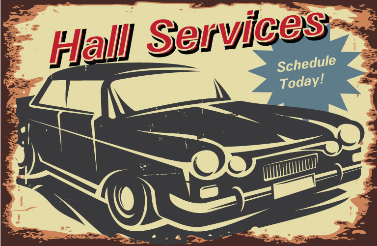 Car Service At Hall Automotive