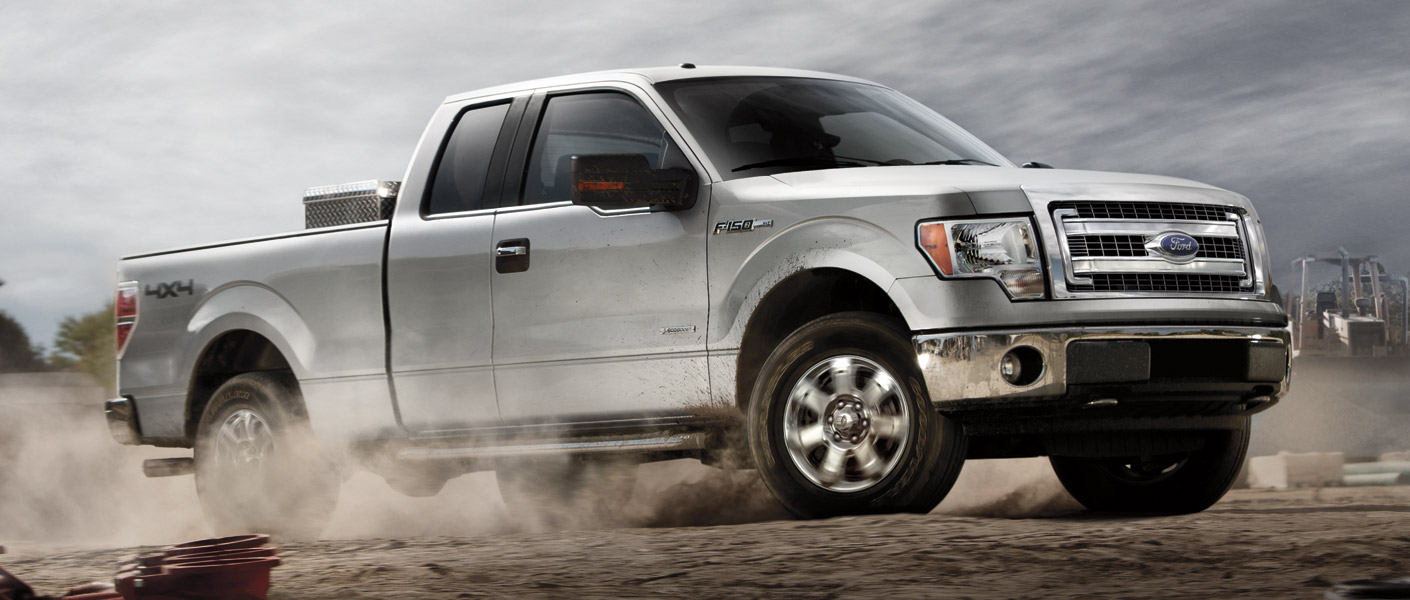 Work and Ride in Comfort in a 2013 Ford F-150
