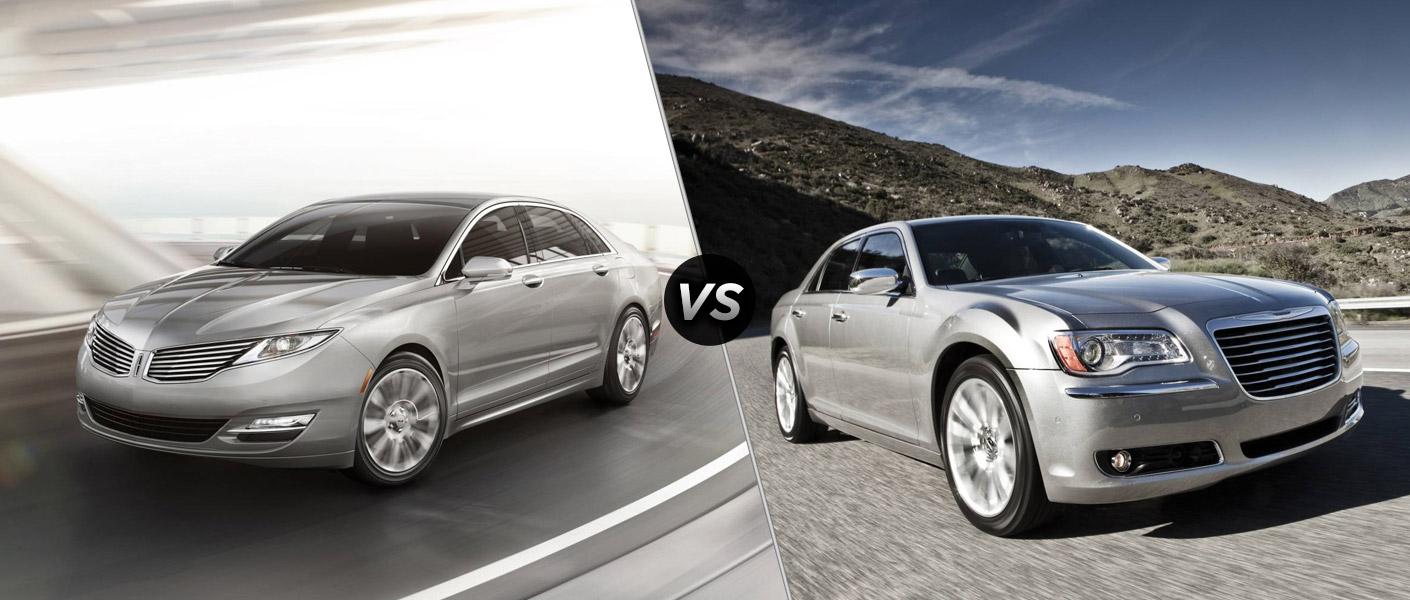2013 LINCOLN MKZ vs 2013 Chrysler 300