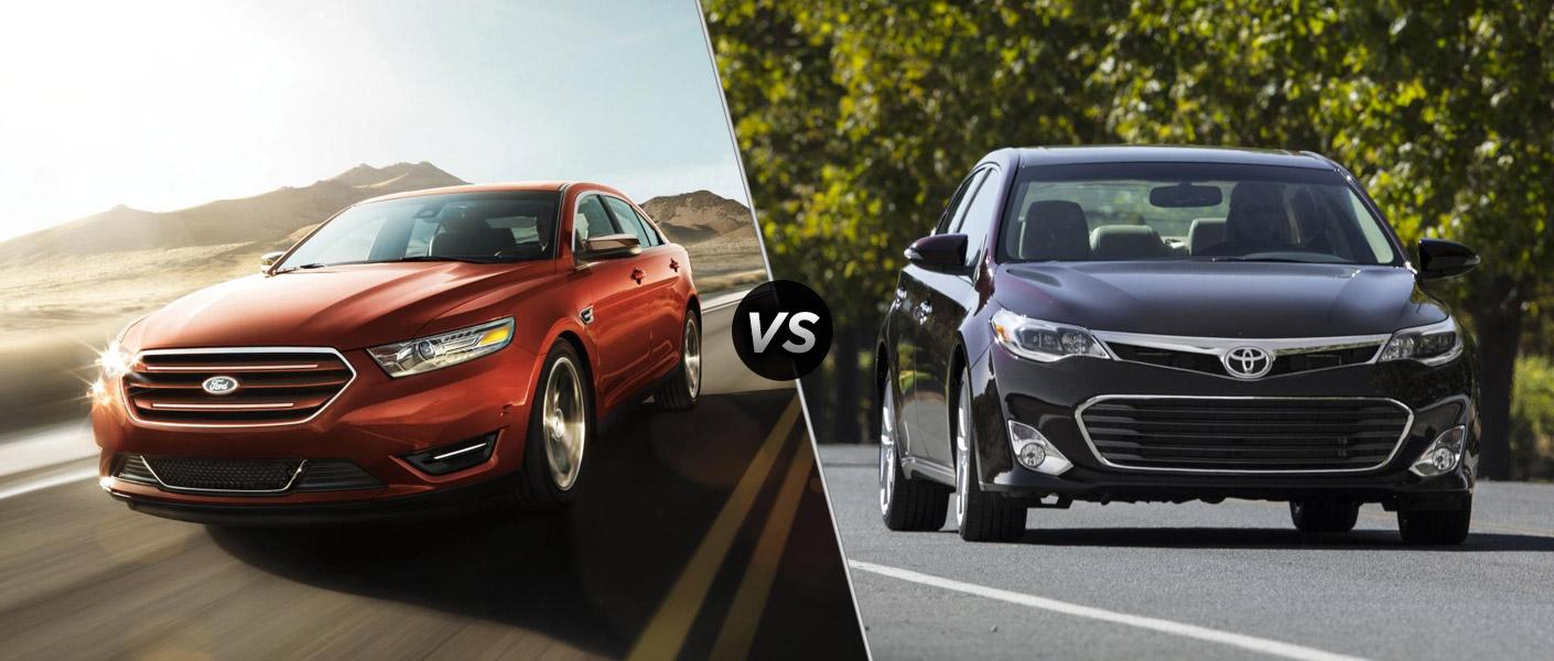 2014 Ford Taurus vs 2014 Toyota Avalon
