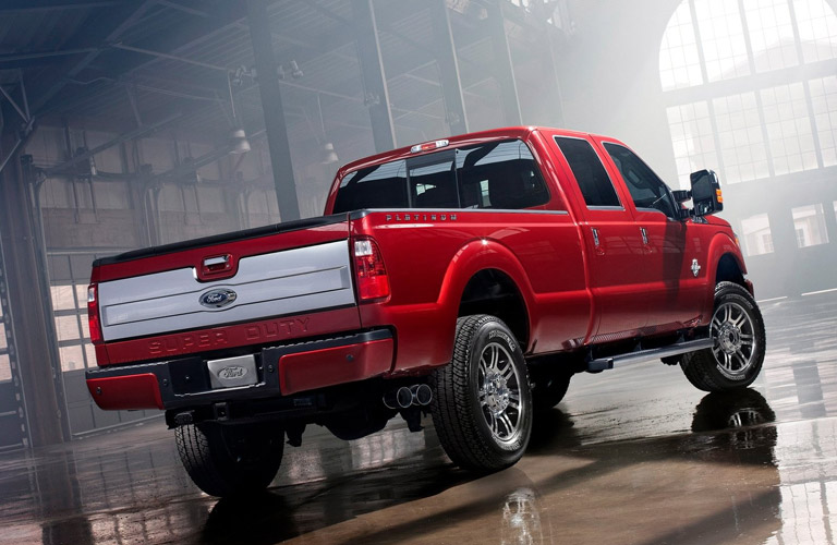 Special Features of the 2013 Ford F-250