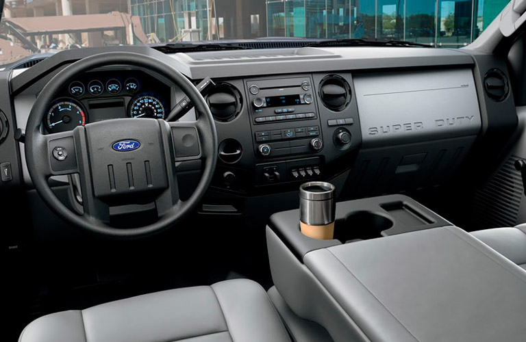 Capability of the 2014 Ford F-250