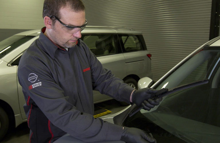 Service at Fenton Nissan East